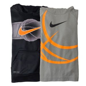 Nike Dri-Fit Therma Fleece / Waffle Hoodie Bundle